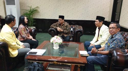 Bertemu Wakil Menag, Pemuda Katolik Tegaskan Tolak Praktik Intoleransi di Indonesia