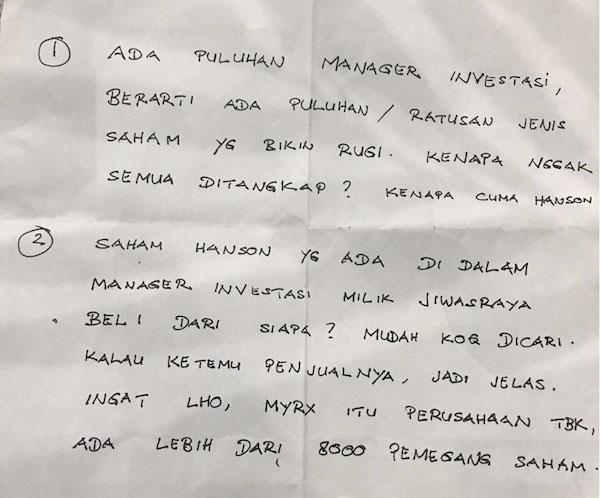 Merasa Dikorbankan, Benny Tjokrosaputro Bongkar Modus Jiwasraya