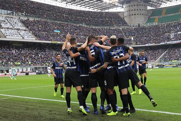 Hasil 7 Laga Kandang Terakhir Inter Milan Sangat Mengagumkan