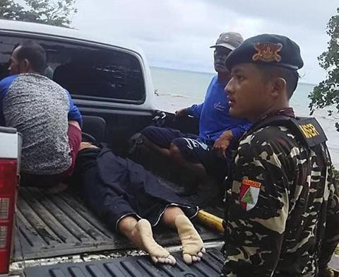 Banser NU Gerak Cepat Bantu Korban Tsunami Selat Sunda
