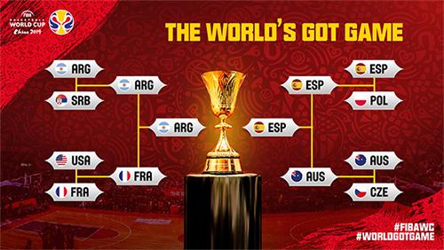 Pukul Prancis, Argentina Ketemu Spanyol di Final Piala Dunia FIBA 2019