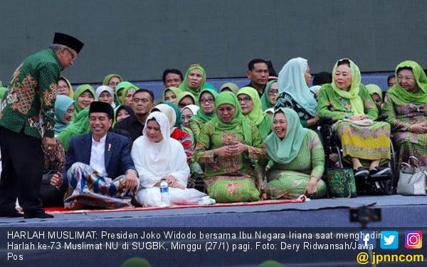Cerita Yenny Wahid soal Kefasihan Jokowi Menyanyikan Ya Lal Wathan
