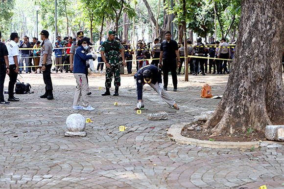 Jokowi Pemberani, Tidak Khawatir dengan Ledakan di Monas