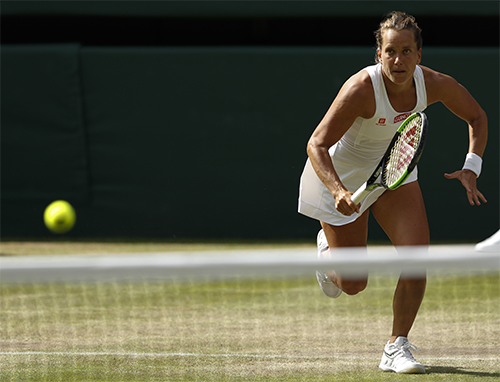 Barbora Strycova Ketemu Serena Williams di Semifinal Wimbledon 2019