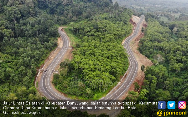 Jalan Lintas Selatan Jatim: Pacitan Mulus, yang Lain? Sabar