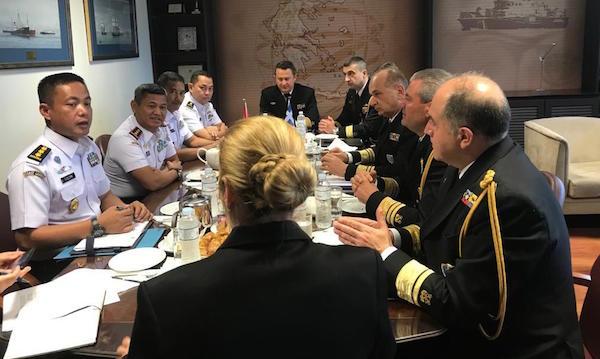 Yunani, Destinasi Diplomasi Maritim Kepala Bakamla