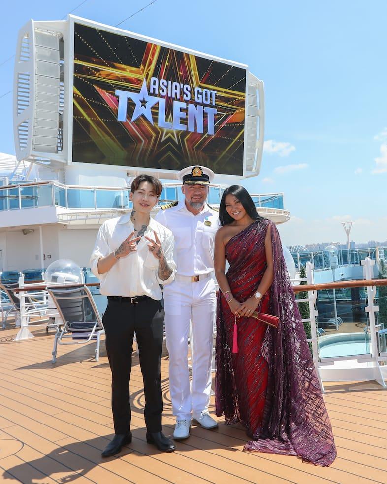 Princess Cruises Sambut Juri Asia's Got Talent di Atas Majestic