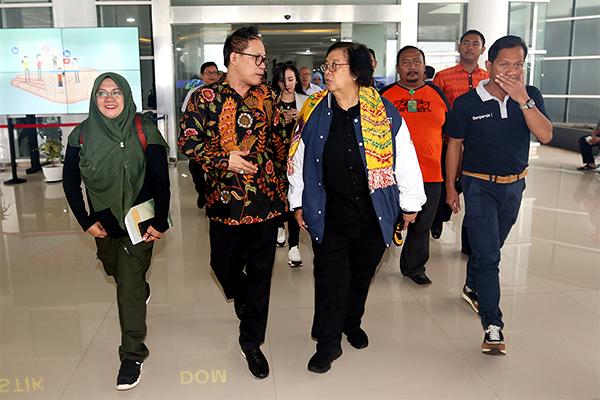 Ketua Panitia HPN 2020 Auri Jaya Sambut Siti Nurbaya, Ada Wanita Api