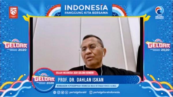 Dahlan Iskan: Partai Gelora Bisa Bikin Road Map Mencari Pemimpin Berkualitas