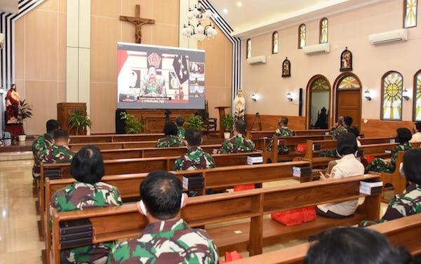 Panglima: Perayaan Natal, Momentum Untuk Memelihara Kerukunan Antarumat Beragama