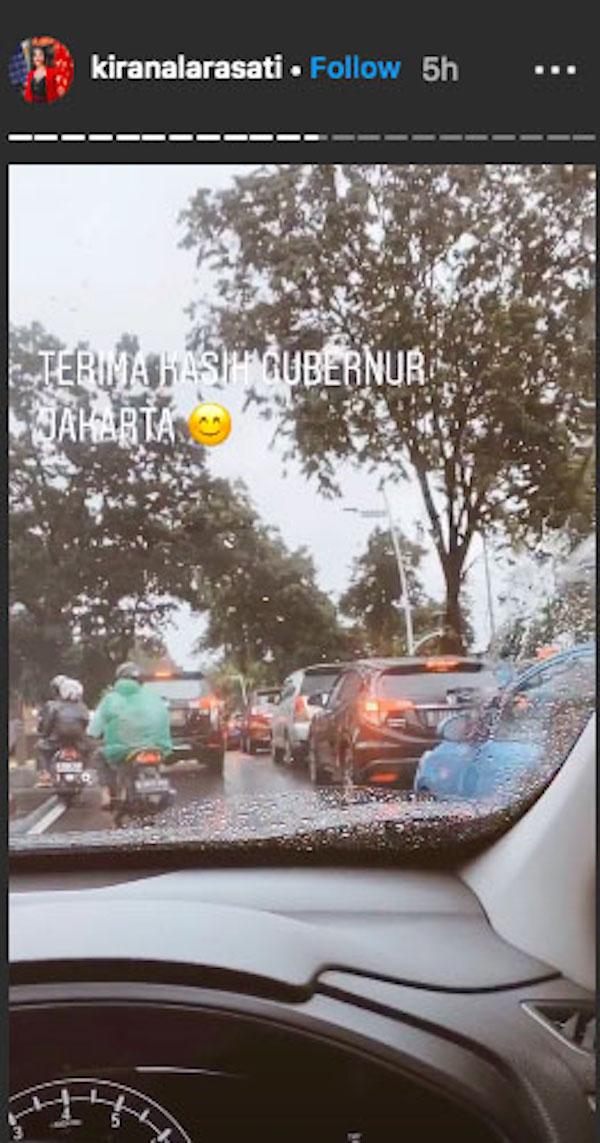 Jakarta Banjir Lagi, Kirana Larasati Sindir Anies Baswedan