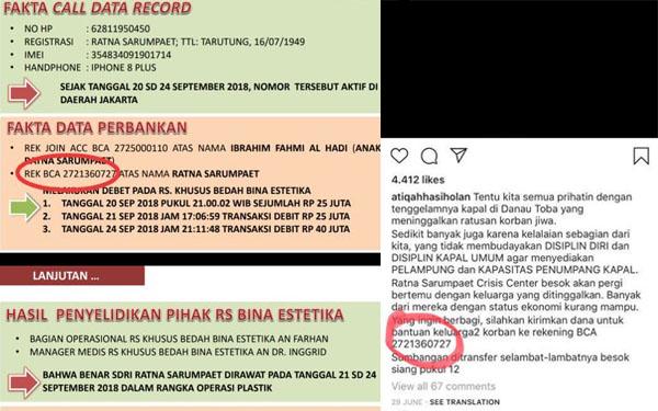 Ratna Sarumpaet Gunakan Rekening Pribadi untuk Galang Dana?
