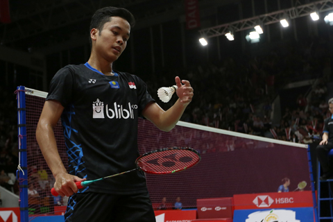 Yes! Ginting Tembus Perempat Final Indonesia Masters 2019