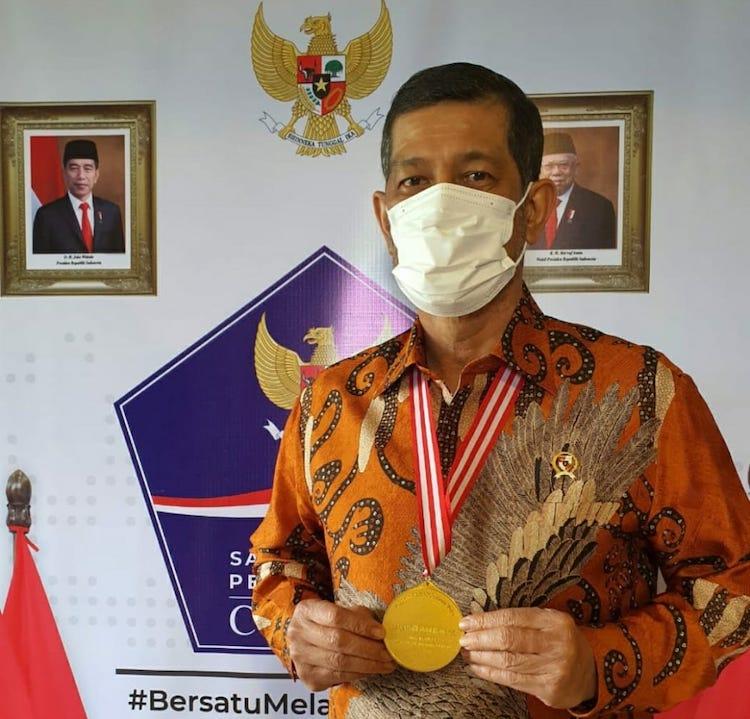 Tahniah, Ikhtiar Doni Monardo untuk Media Berbuah Medali Emas dari Dewan Pers