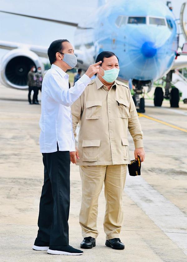 Kekesalan Presiden Jokowi Kepada Prabowo Sirna, Lihat, Mereka Begitu Mesra