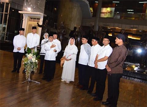 Silaturahmi Tokoh di Bogor, Bupati Anas: Ganjar Kumandangkan Ikamah, Gubernur NTB jadi Imam