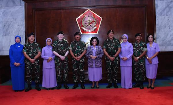 57 Perwira Tinggi TNI Naik Pangkat, Nih Nama Lengkapnya