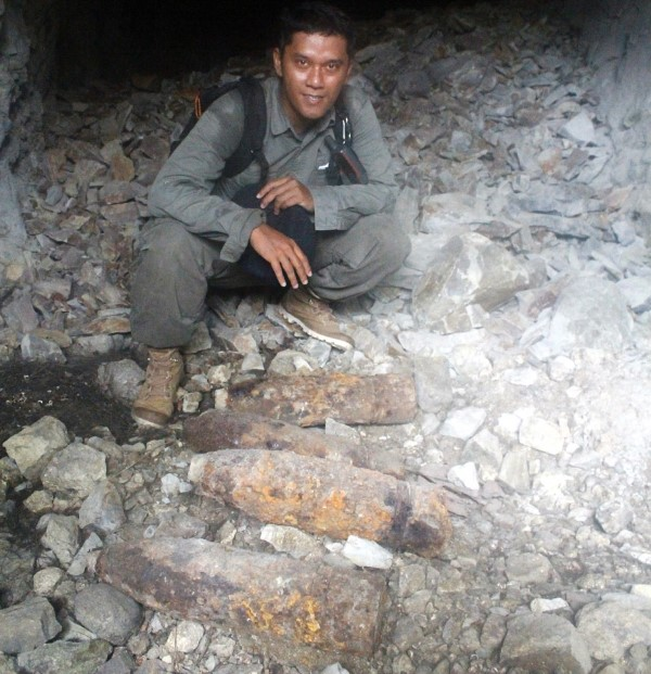 Gua-gua Belanda dan Pos Intai Kapal di Pulau Nusakambangan