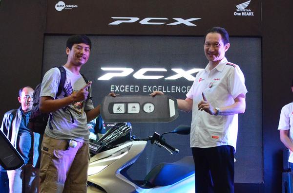 All New Honda PCX 150 Sapa Warga Jabar, Ini Harganya