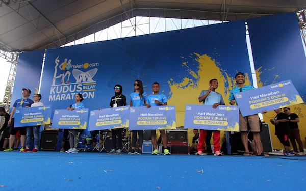 Kudus Relay Marathon 2018 Hasilkan Para Pelari Tangguh