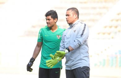 Kiper Timnas Indonesia U-19 Resmi Berkostum PSMS Musim Ini