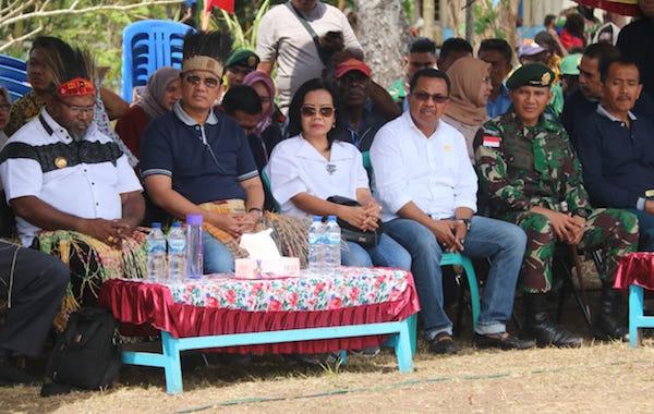 Bupati Merauke: Saya Berterima Kasih kepada TNI dan Polri