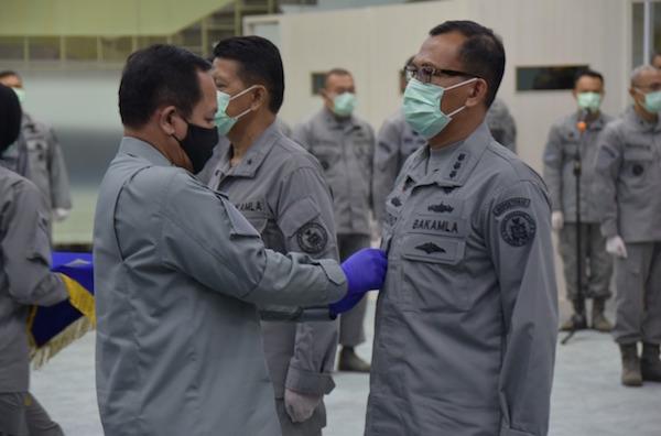 Sah! Kolonel Laut Mulyono Resmi Jadi Inspektur Bakamla RI