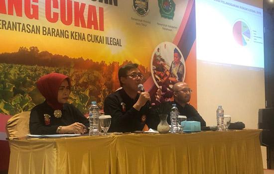 Gempur Rokok Ilegal Demi Lindungi Pengusaha Legal dan Jaga Penerimaan Negara