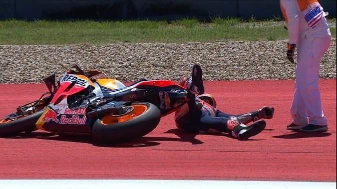 Hasil MotoGP Amerika: Marquez 'Raja COTA' Tumbang, Sejarah Baru Muncul