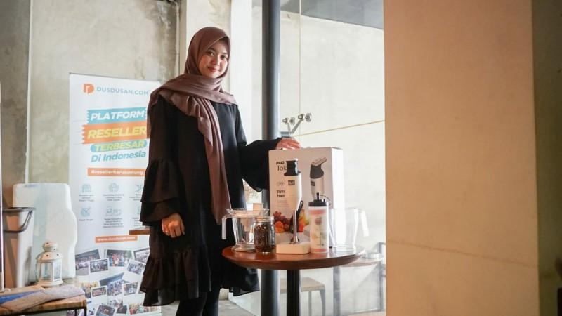 Dusdusan Gandeng Merdis International Tambah Produk Innovation Store
