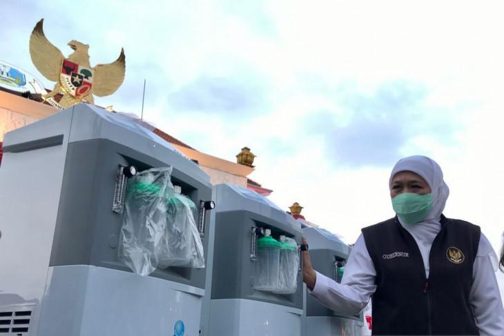 Kontingen Jatim Dapat Lima Unit Konsentrator Oksigen Tambahan - JPNN.com Jatim