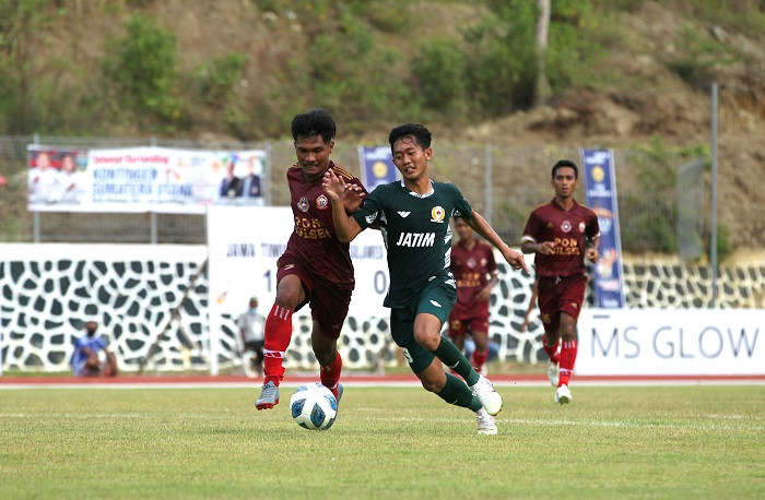 Laga Perdana PON Papua, Tim Sepak Bola Jatim Bekuk Sulsel, Tapi Pelatih Tidak Puas - JPNN.com Jatim