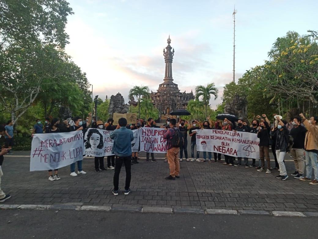 Gerakan Mahasiswa Bali Tidak Diam Kembali Turun ke Jalan Hari Ini - JPNN.com Bali