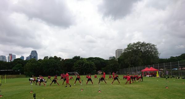 Geber Kemampuan Timnas, Shin Tae-yong Fokus Latihan Fisik - GenPI.co
