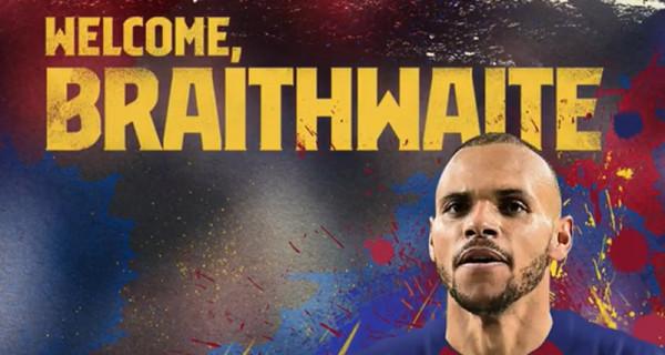 Martin Braithwaite Naik Kasta, Dari Klub Kecil ke Barcelona - GenPI.co