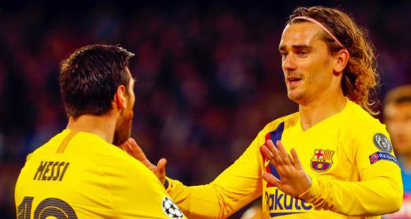 Napoli vs Barcelona 1-1: Rekor Buruk Lionel Messi Berlanjut - GenPI.co