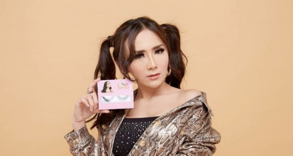 Eyelashes Premium Sarita Beauty Aman bagi Pemakai Softlens - GenPI.co
