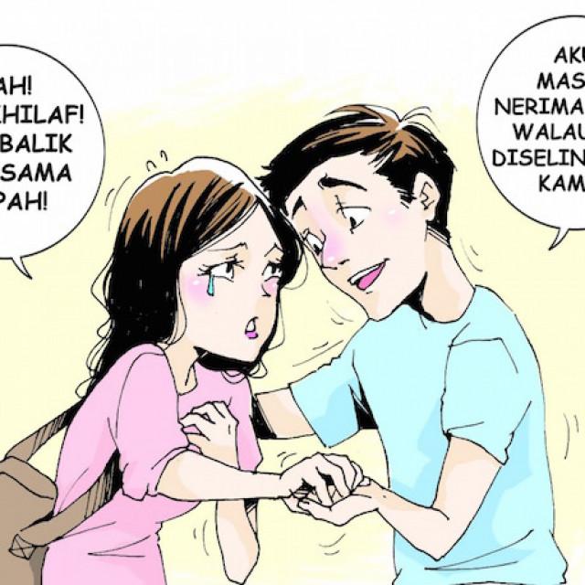 Kisah Suami yang Tetap Setia Meski Melihat Istri Berhohohihi di