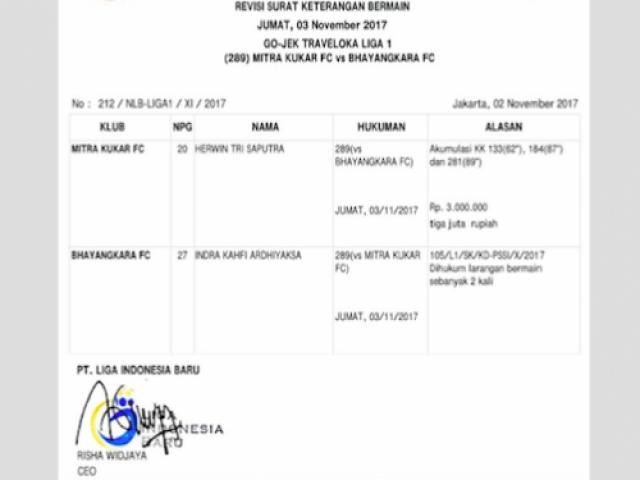 Aneh Nama Sissoko Tak Ada Dalam Nota Larangan Bermain Olahraga