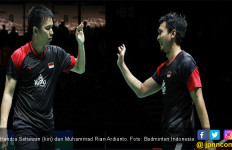Jadwal Semifinal Kejuaraan Dunia BWF Hari Ini, Daddies vs FajRi Partai ke-8 - JPNN.com