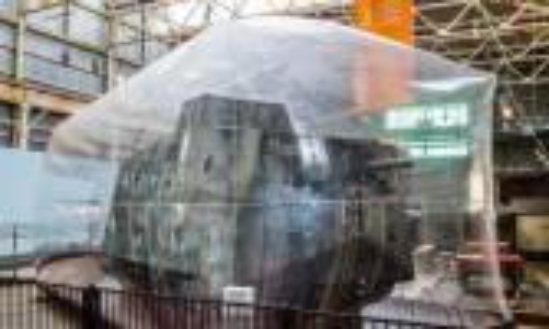 Tank Jerman Dari PD I Disimpan Dalam Gelembung Plastik di Brisbane - JPNN.COM