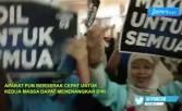 Ketegangan Pendukung Kedua Kubu Pasangan Capres Dan Cawapres Jelang Debat - JPNN.COM