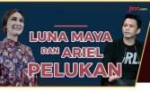 Lama tak Jumpa, Luna Maya dan Ariel Noah Pelukan? - JPNN.COM