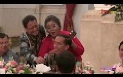 Begini Kala Jokowi dan JK Berkokok Menirukan Suara Ayam - JPNN.com
