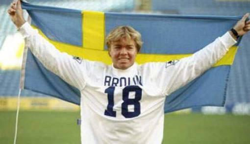 Tomas Brolin Anak Emas Swedia - JPNN.COM