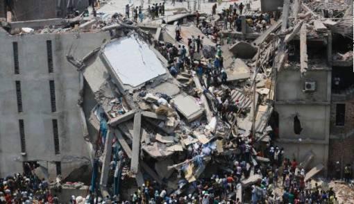 Gedung 8 Lantai di Bangladesh Ambruk, 100 Tewas - JPNN.COM