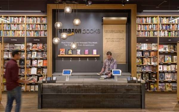 Amazon.com Kini Buka Toko Buku Fisik - JPNN.com