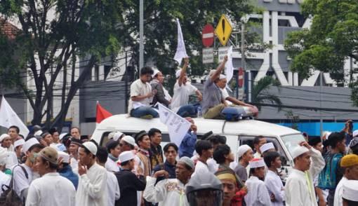 Wah! Aksi Demo 411 Resmi Masuk Situs Ensiklopedi Wikipedia - JPNN.COM