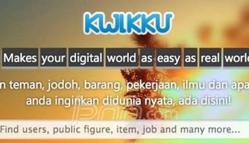Kwikku, Jejaring Sosial Lokal Terlengkap Kreasi Mahasiswa Malang - JPNN.COM