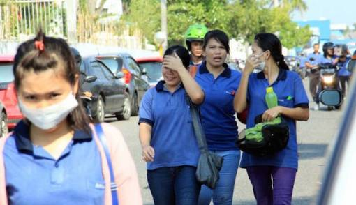 Rombongan Longmarch Buruh dari Surabaya Tiba di Bekasi - JPNN.COM